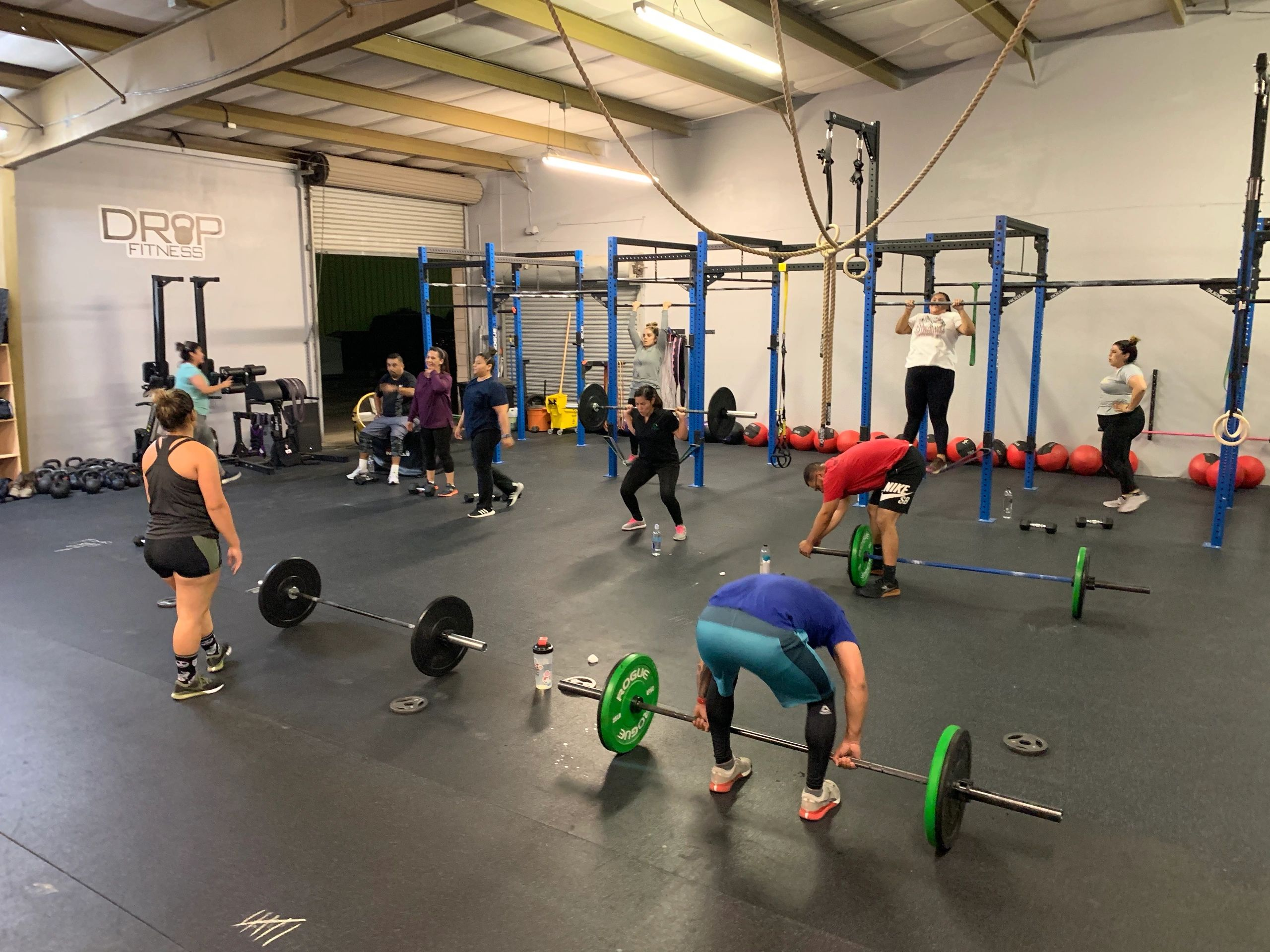 Drop Fitness Gym Boot Camp Work Out Studio