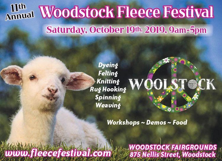 Woodstock Fleece Festival - Workshop, Workshop, Festival