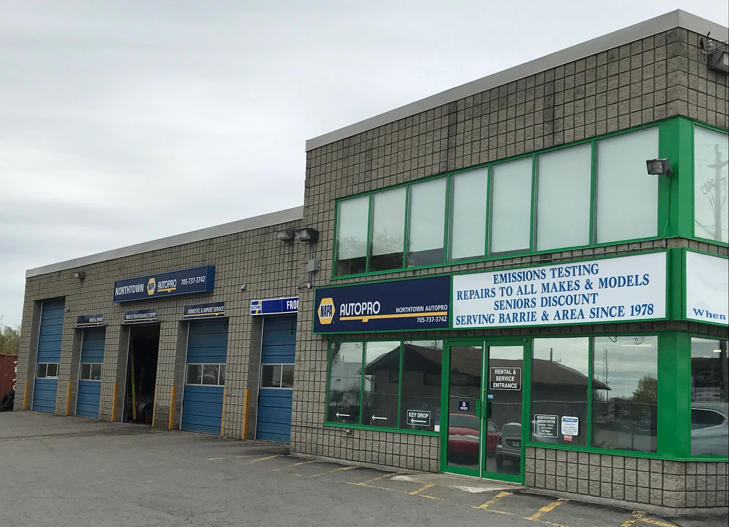 Napa Northtown Autopro Barrie Ltd