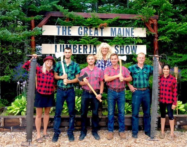 3bd50b9c99c5 Timber Tina s GREAT MAINE LUMBERJACK SHOW - Home