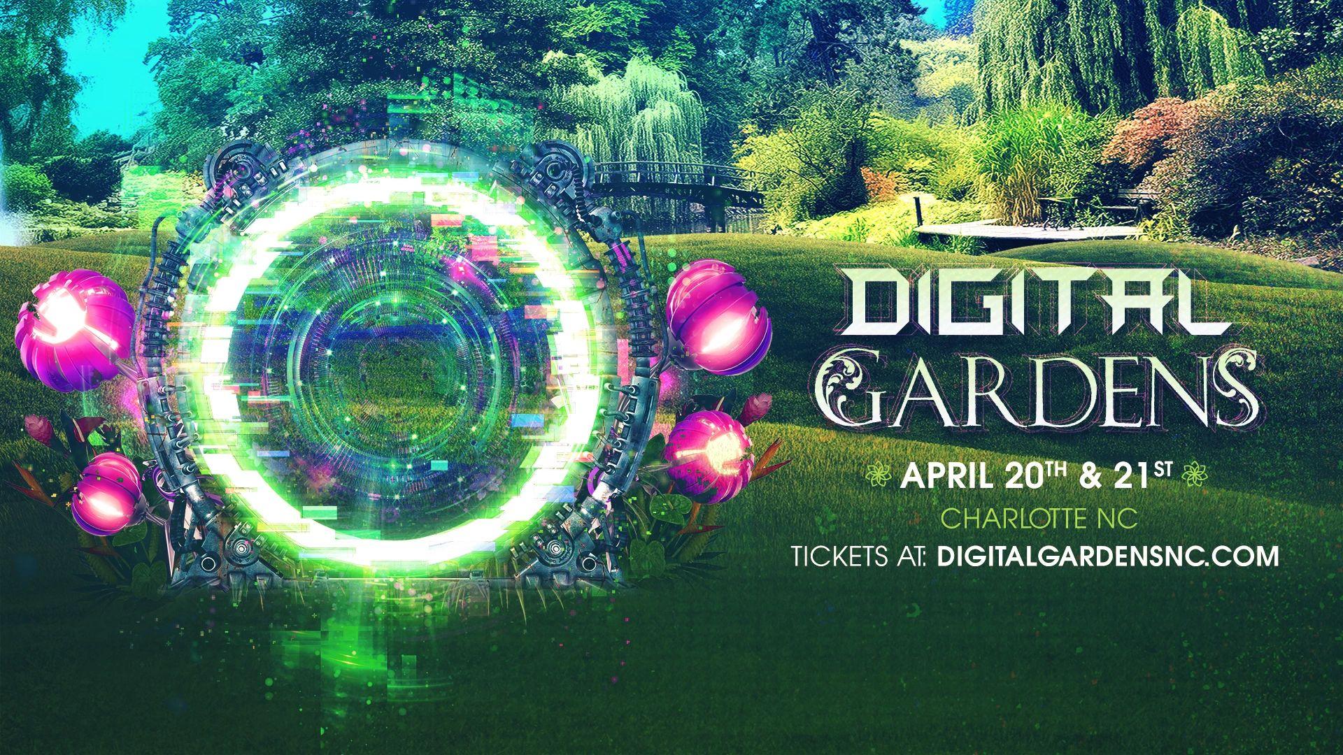 TICKETS | Digital Gardens