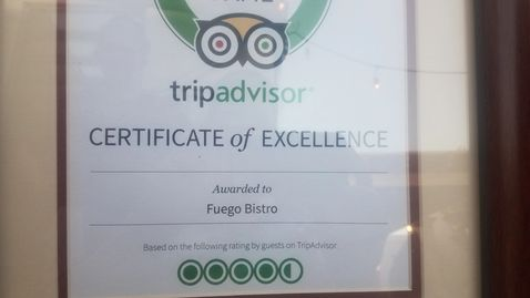 Trip advisor, hall of fame, top 5, best restaurant