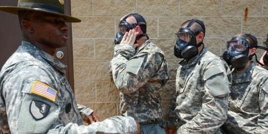 QCT Combat Basic Training Tour - Gas Chamber