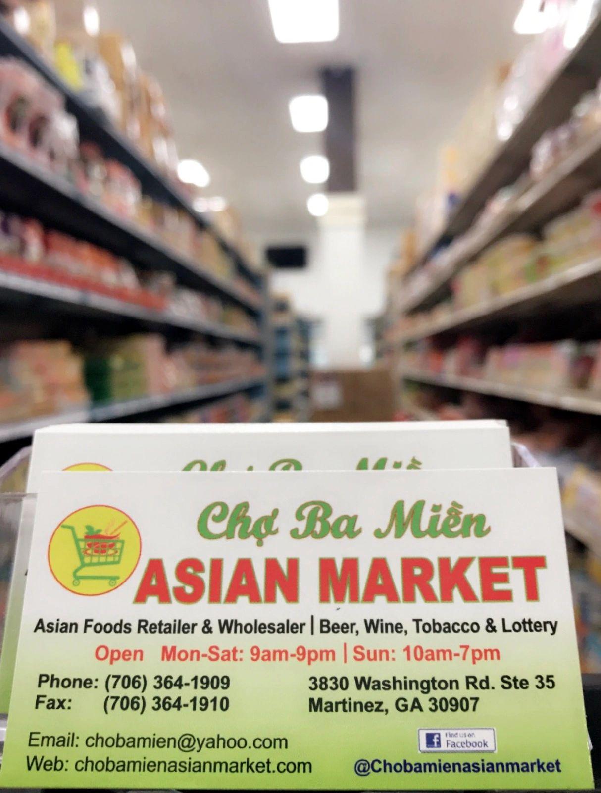 Cho Ba Mien Asian Market