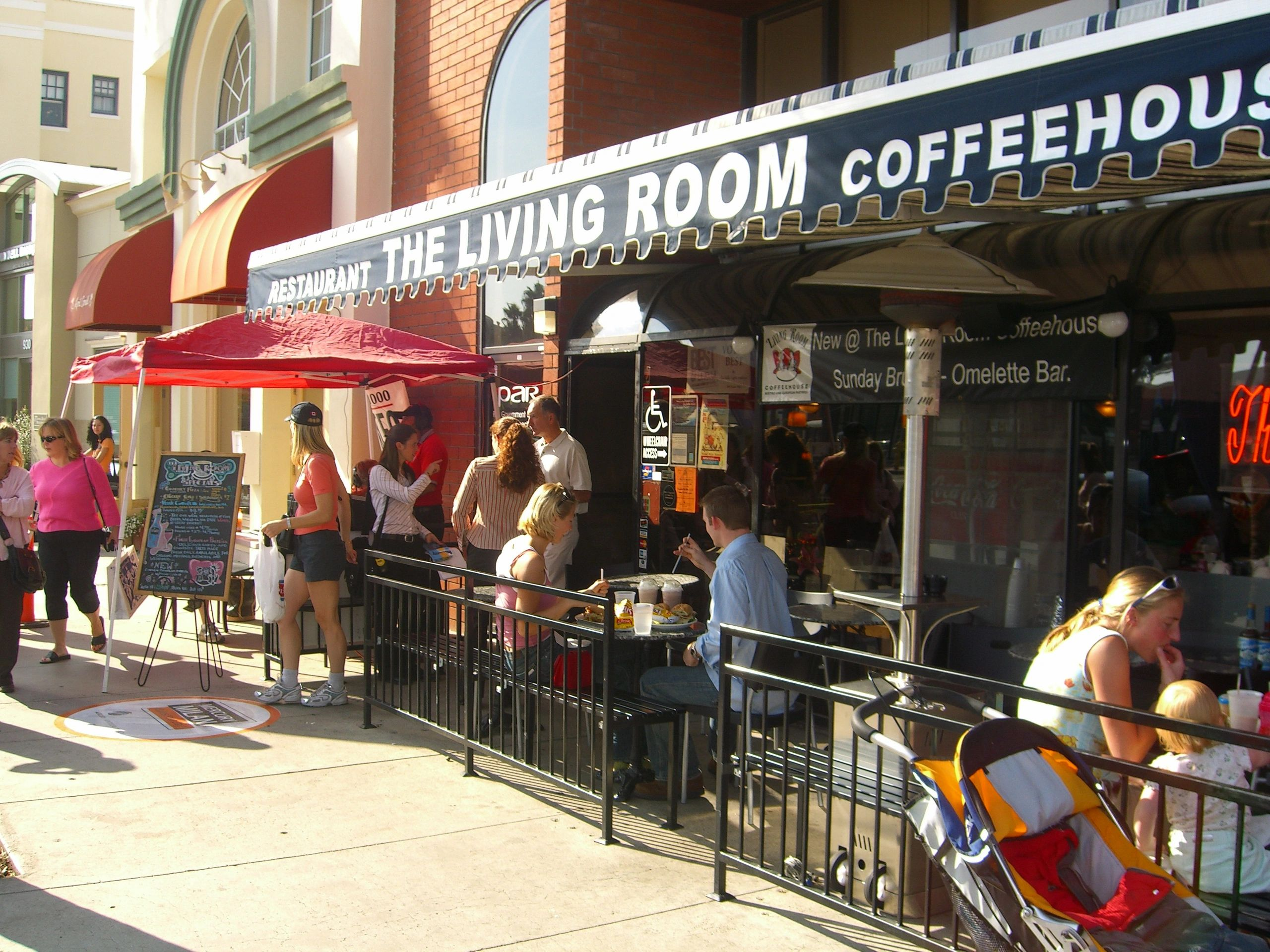 The Living Room Coffeehouse Home