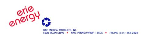 Erie Energy Products