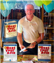 Steve S. Ryan, PhD, Beat Your A-Fib, book signing, Bank of Books