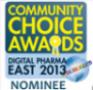 Community Choice Awards 2013 Nominee, http://info.wegohealth.com/2013CommunityChoice