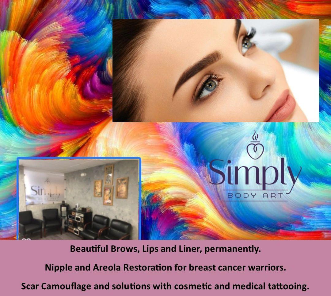 Simply Body Art - Permanent Makeup Training, Microblade