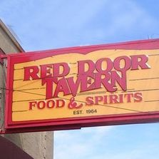 Red Door Tavern Sign