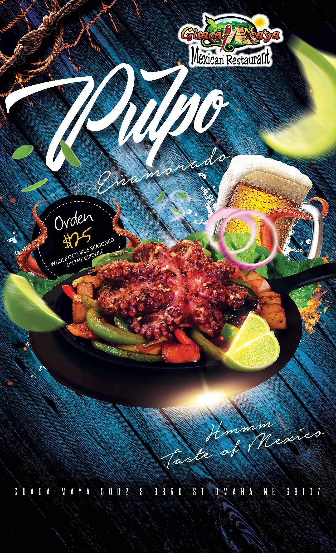 Guaca Maya Restaurant Mexican Food Night Club