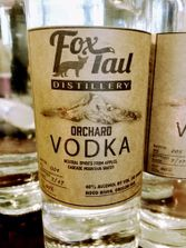 Vodka, Brandy, Fox-Tail Distillery, Flavored Vodka, Apple Brandy