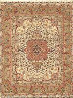 Silk Tabriz handmade in Persia
