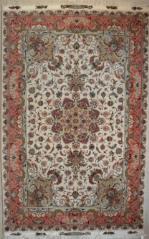 Handmade Tabriz Rugs Wool and Silk