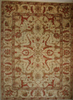 Pakistan Soltan Abad fine handmade rug with natural wool