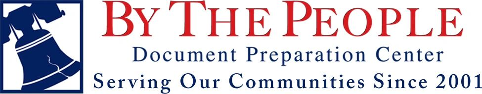 BY THE PEOPLE Document Preparation Legal Document Assistant BY - Legal document assistant