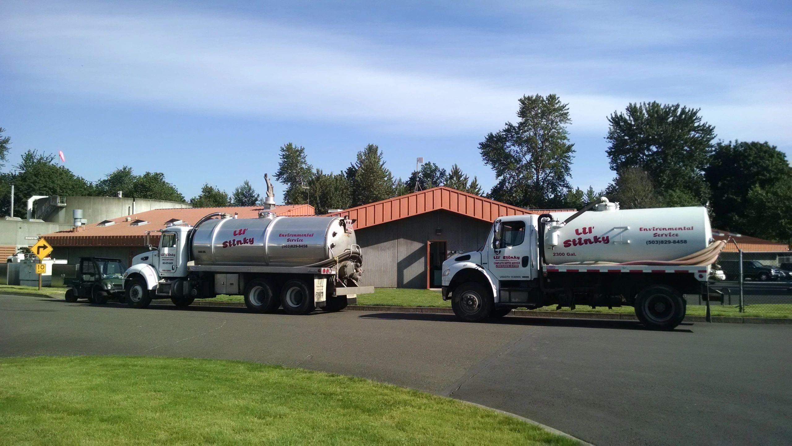 Lil Stinky Septic Tank Service Portland Oregon