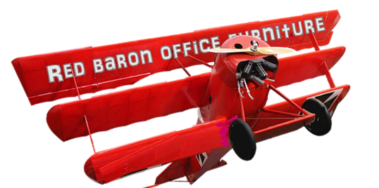 Red Baron Office Furniture - buying, selling office furniture in USA. Showrooms in Pinellas Pasco FL