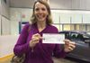 Carol Morawetz wins $500 a the 2014 C.R.I.C.! Thanks for your support!!