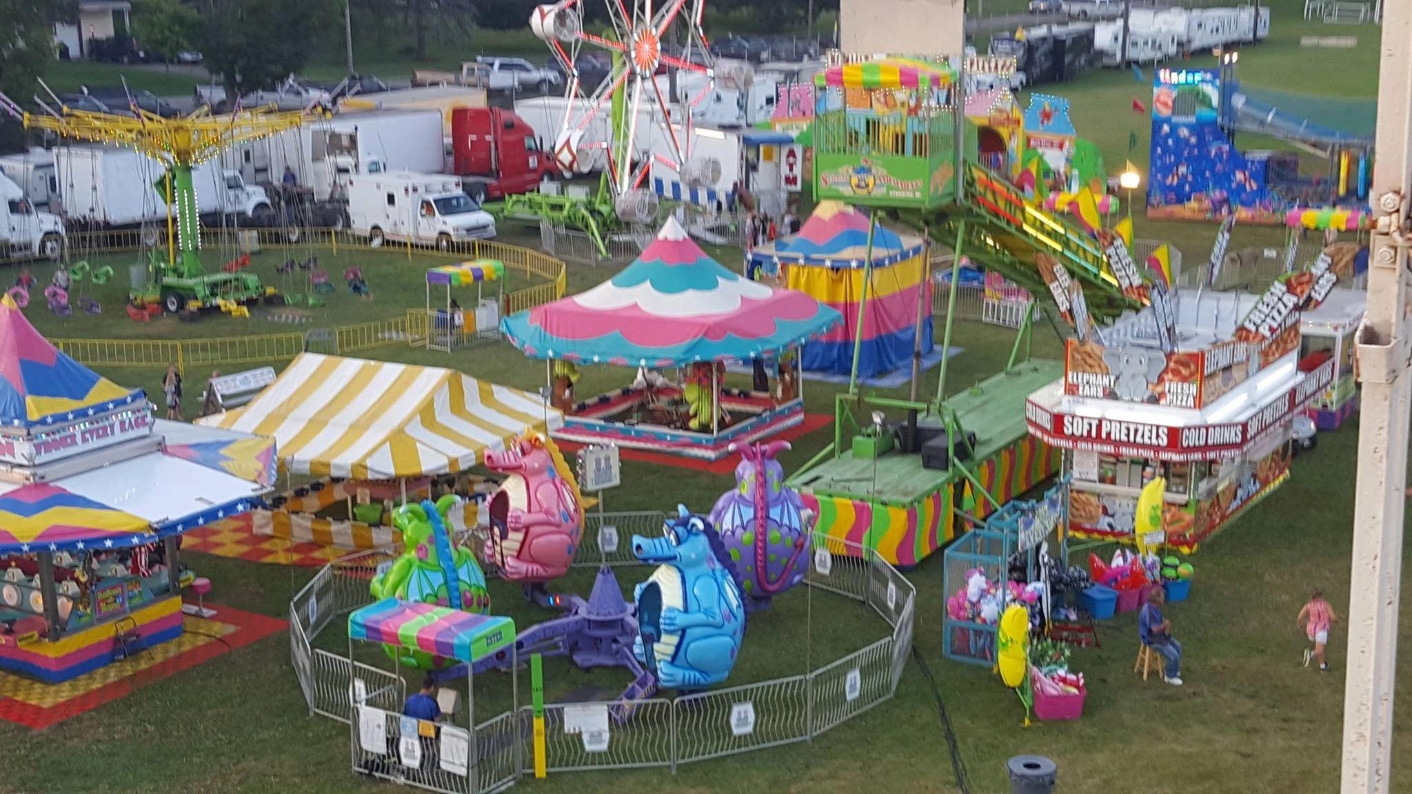 Saline Community Fair 2020.Manchester Community Fair