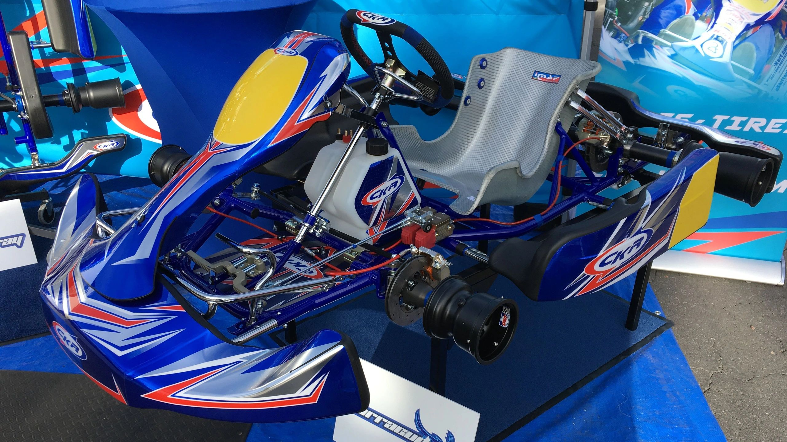 CKR Racing Kart Chassis Models - Shifter Kart KZ LO206 Kid ...