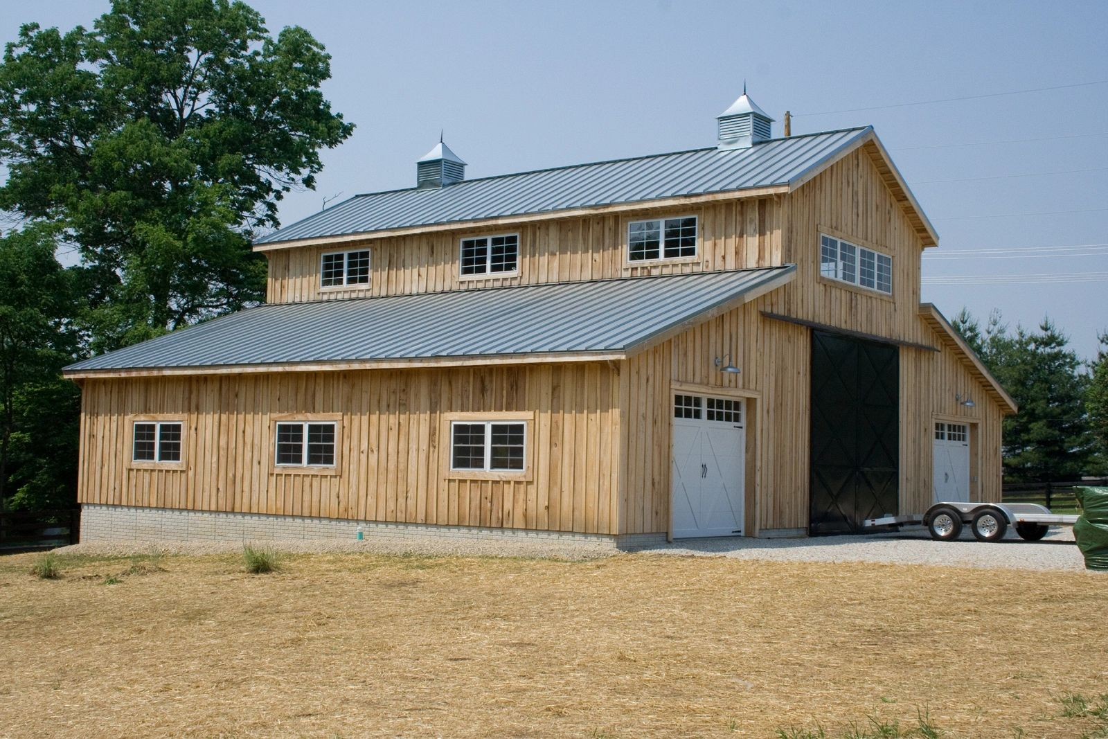 wood pole barn kits