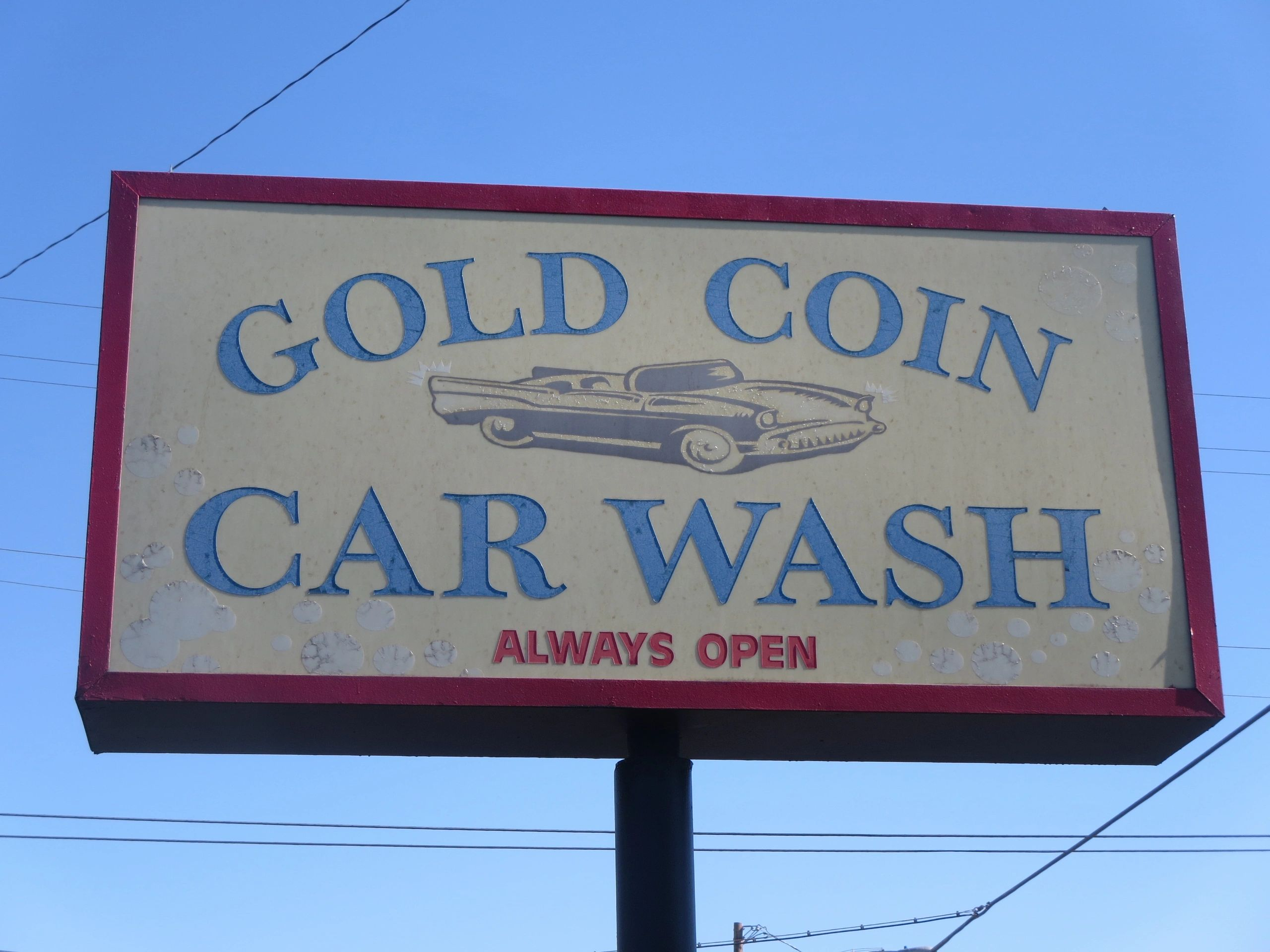Gold Coin Car Wash