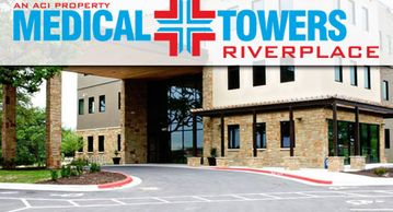 Hat Trick's Medical Tower at Riverplace master planned community in Austin, Texas