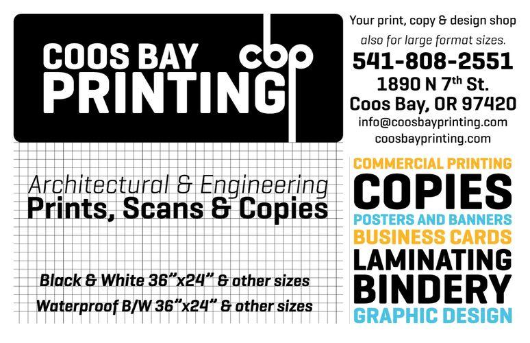 coos bay printing