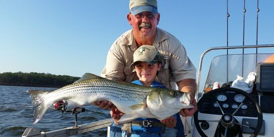 Advantage guide service guided fishing on lake texoma for Texoma fishing license
