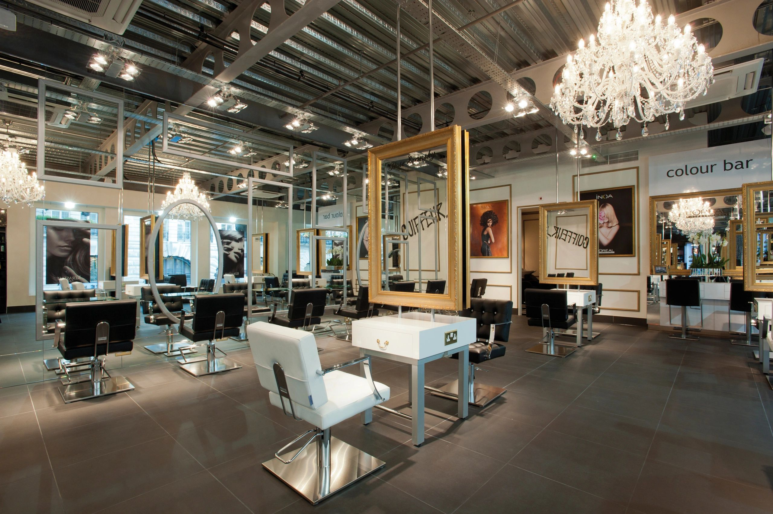 Inspirning Salons - Hairdressing Furniture, Salon Design