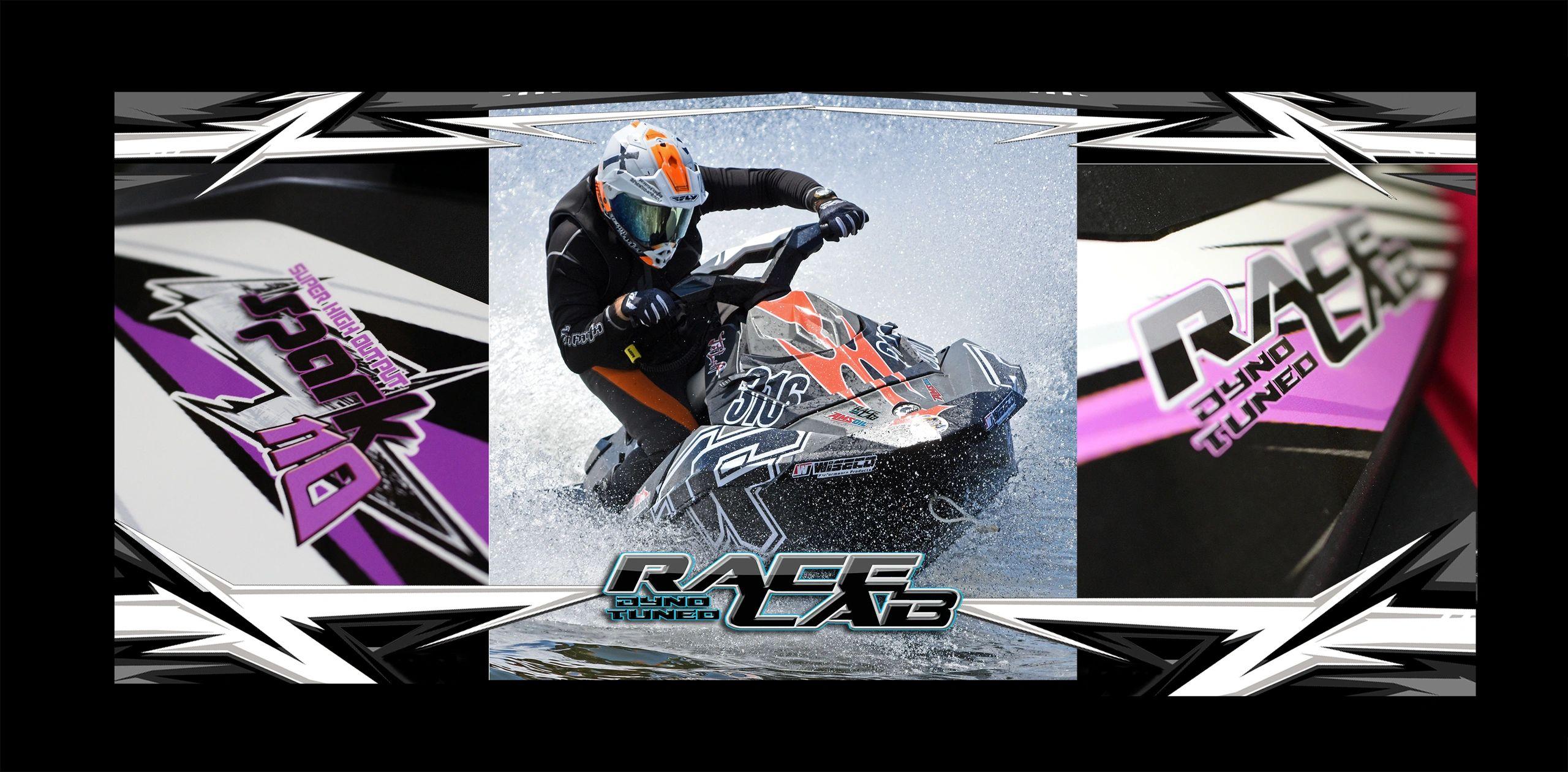 RaceLab - ECU Tuning Seadoo Spark 110hp, Dyno Tuned