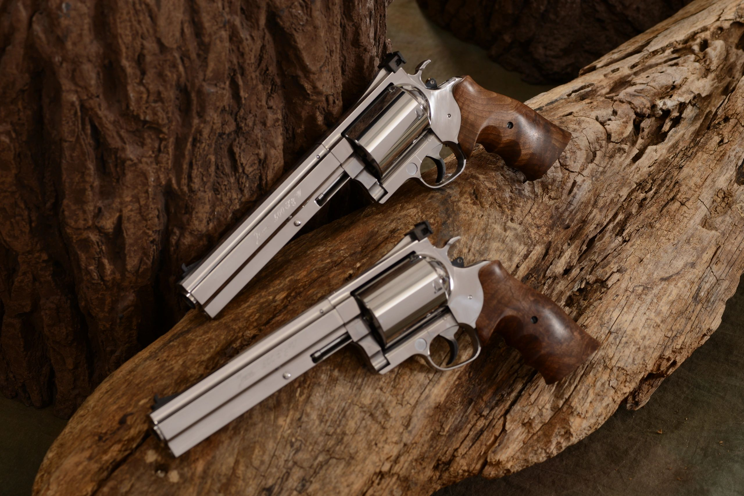 Custom Made Revolvers From Germany - Janz Revolver