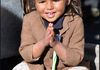 Just a smile, a young girl in Himalayas.