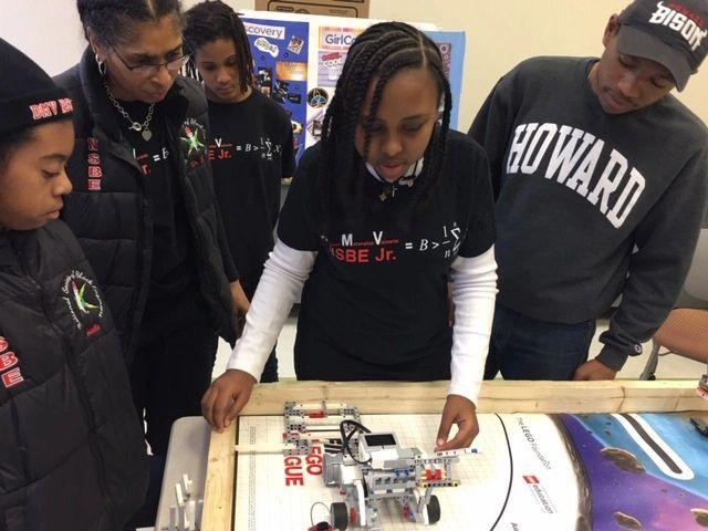 DMV NSBE, Jr  - Stem Program, Vex Robotics, First Robotics