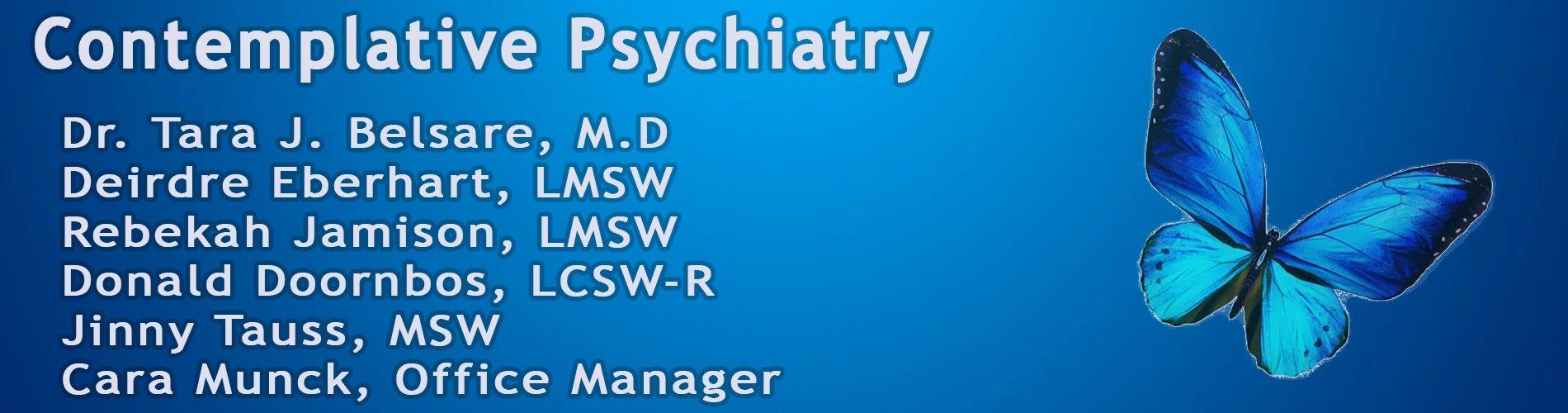 About Contemplative Psychiatry Dr Tara Belsare