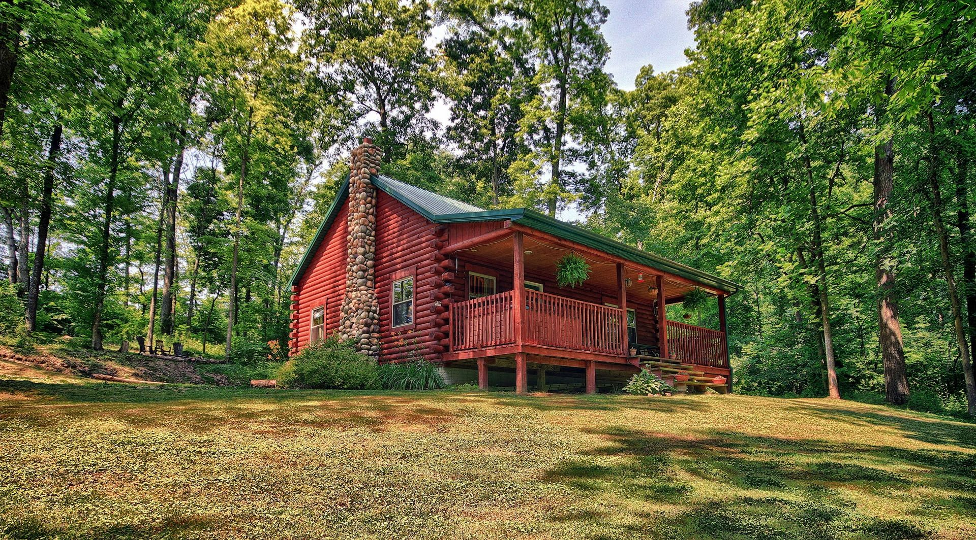 bentree cabin pin lodging romantic hills buffalo hocking lodge ohio and lodges getaways company in cabins