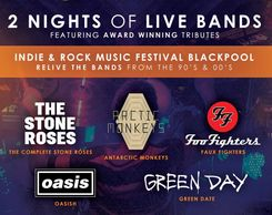 Revival Music Festival Blackpool 2019 Faux Fighters Green Date Oasish Stone Roses Antartic Monkeys