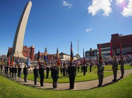 Blackpool Cenotaph Armed Forces Week