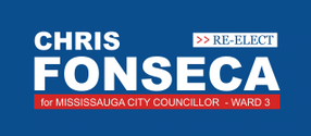 Re-Elect Chris Fonseca for Mississauga City Councillor - Ward 3