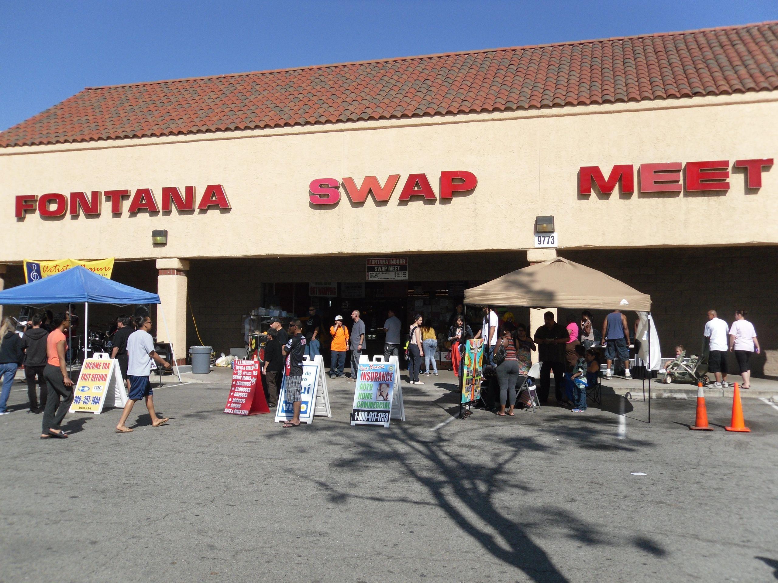 fontana swap meet in california