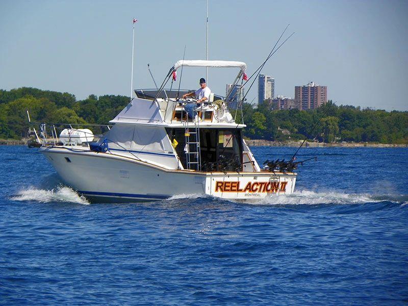 Reel action fishing charters fishing charters salmon for Reel action fishing charters