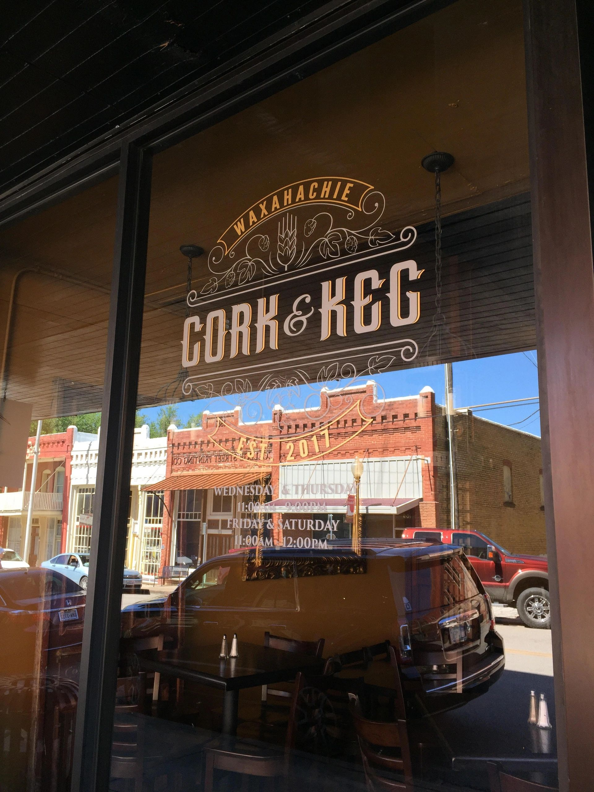 Cork And Keg Wine And Craft Beer Food Menu Lunch And Dinner