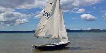 1959 Interlake Sailboat in Michigan