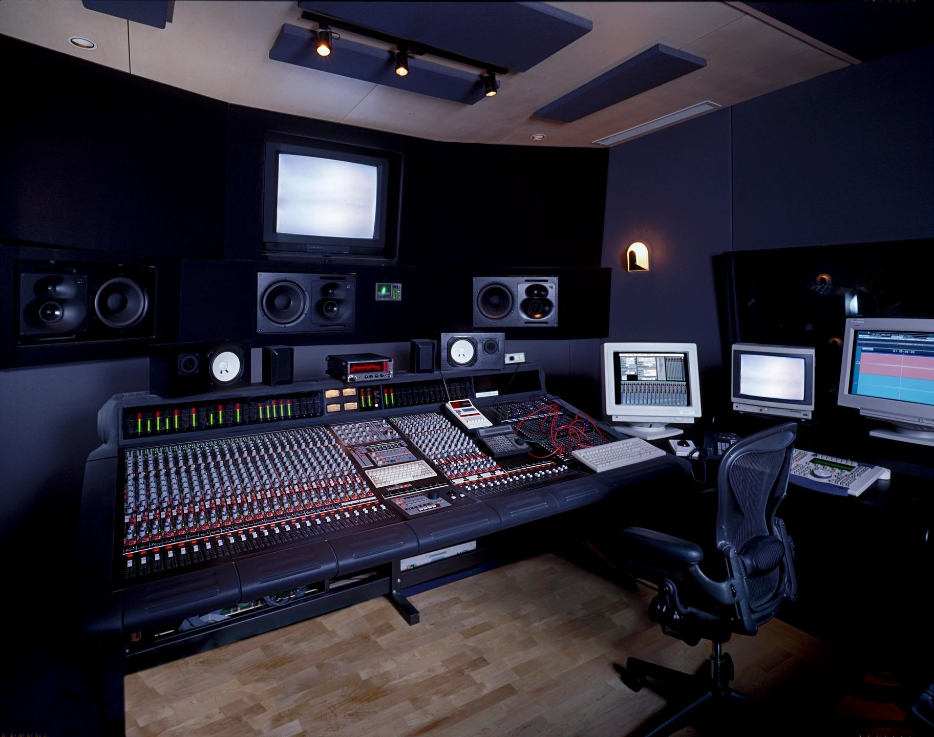 roles in sound recording studio In the studio: instrument roles & creating space sometimes assumptions regarding traditional instrument roles can limit your ability to.