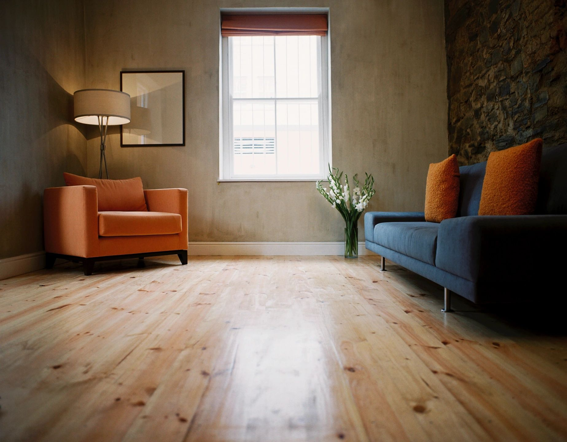 Waterproof Vinyl Flooring | Porcelain Tile | Glass Shower