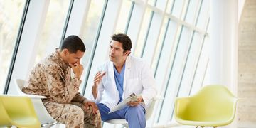 PTSD with referrals from Veterans Choice soon