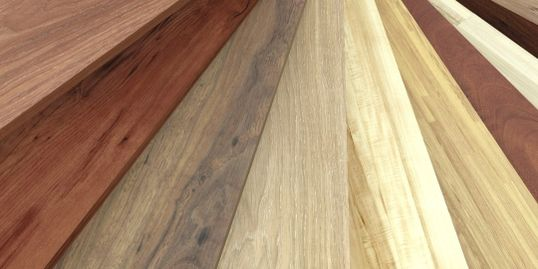 various wood flooring