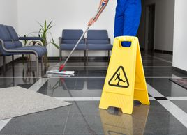 Office environments require careful dusting and wiping, floor care, thorough restroom cleaning and t