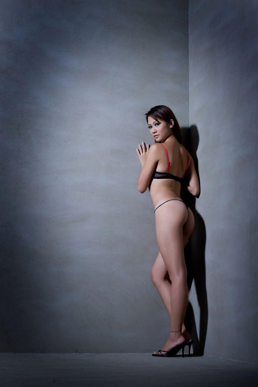 Stripper preforms on a pole